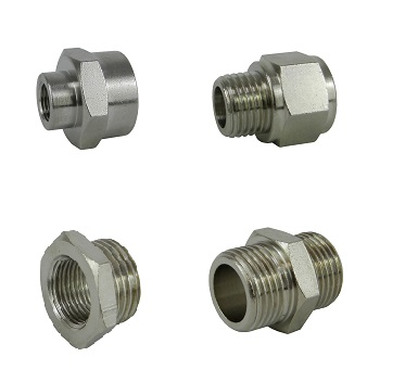 Fittings, reducers and nipples