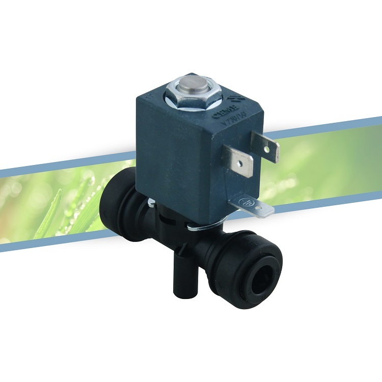 Solenoid valve single outlet 8mm 220V