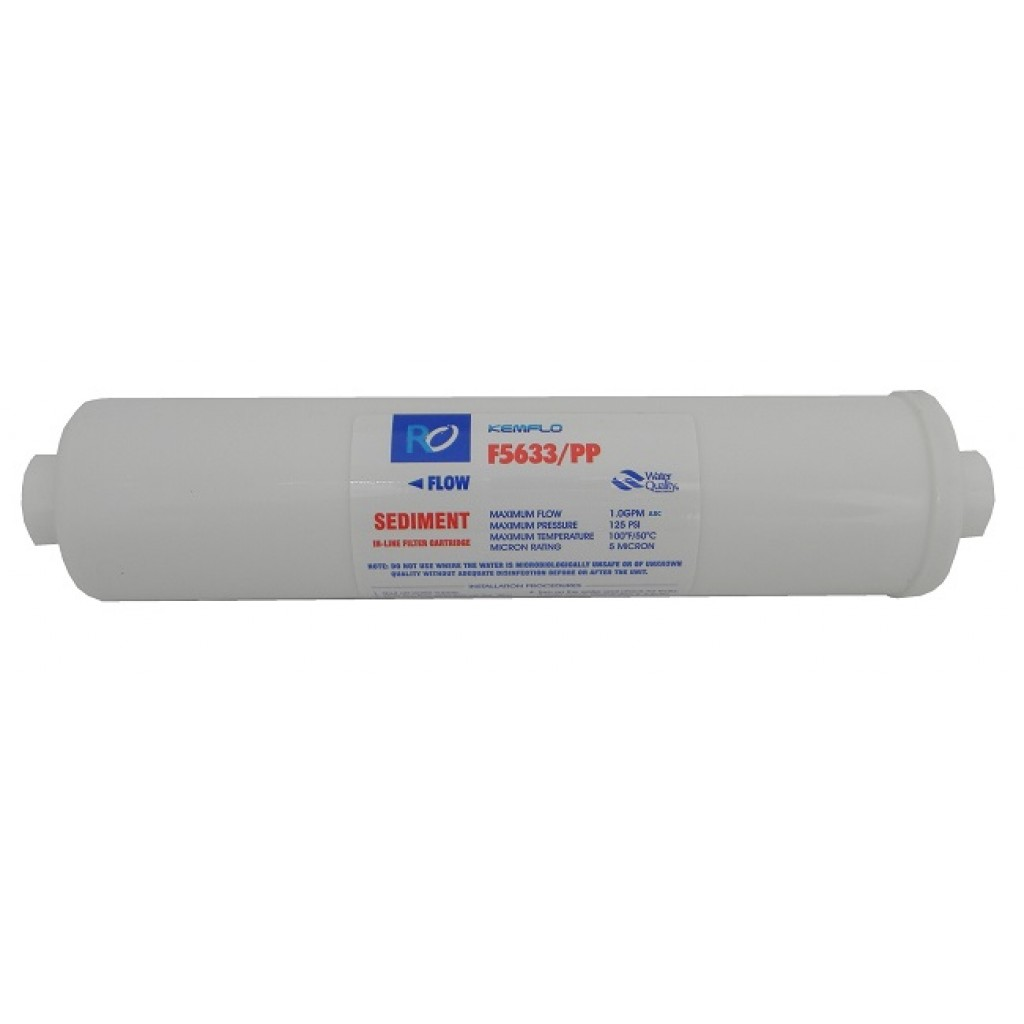 "In line filter Kemflo F5633/PP 12"" Sediment"