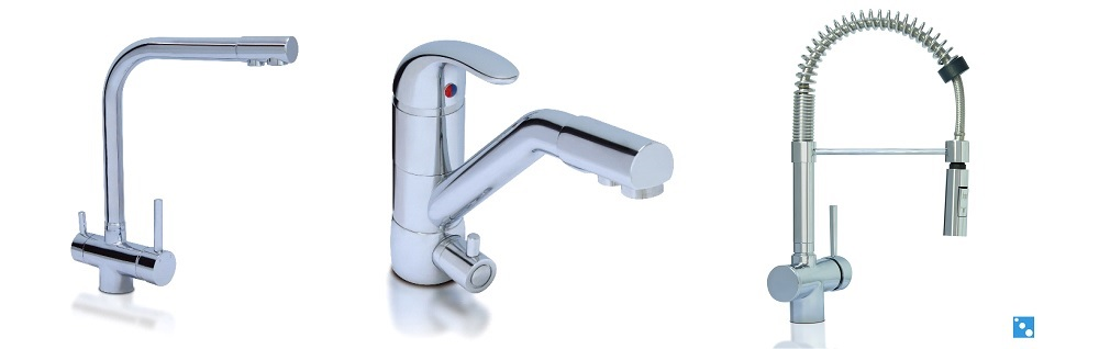 Three Ways Faucets and Mixer Tap