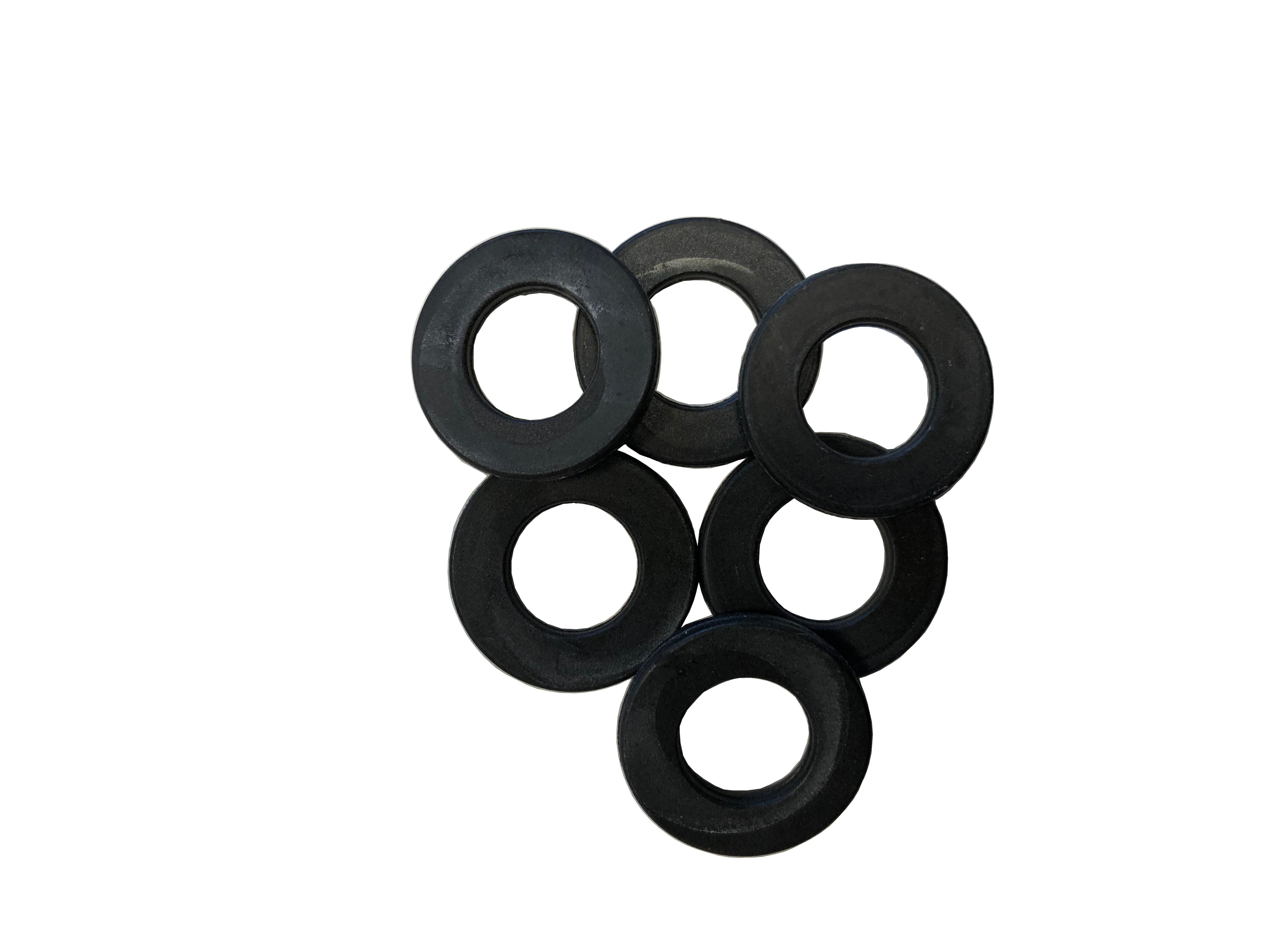 Rubber pads for ODL pressure reducer