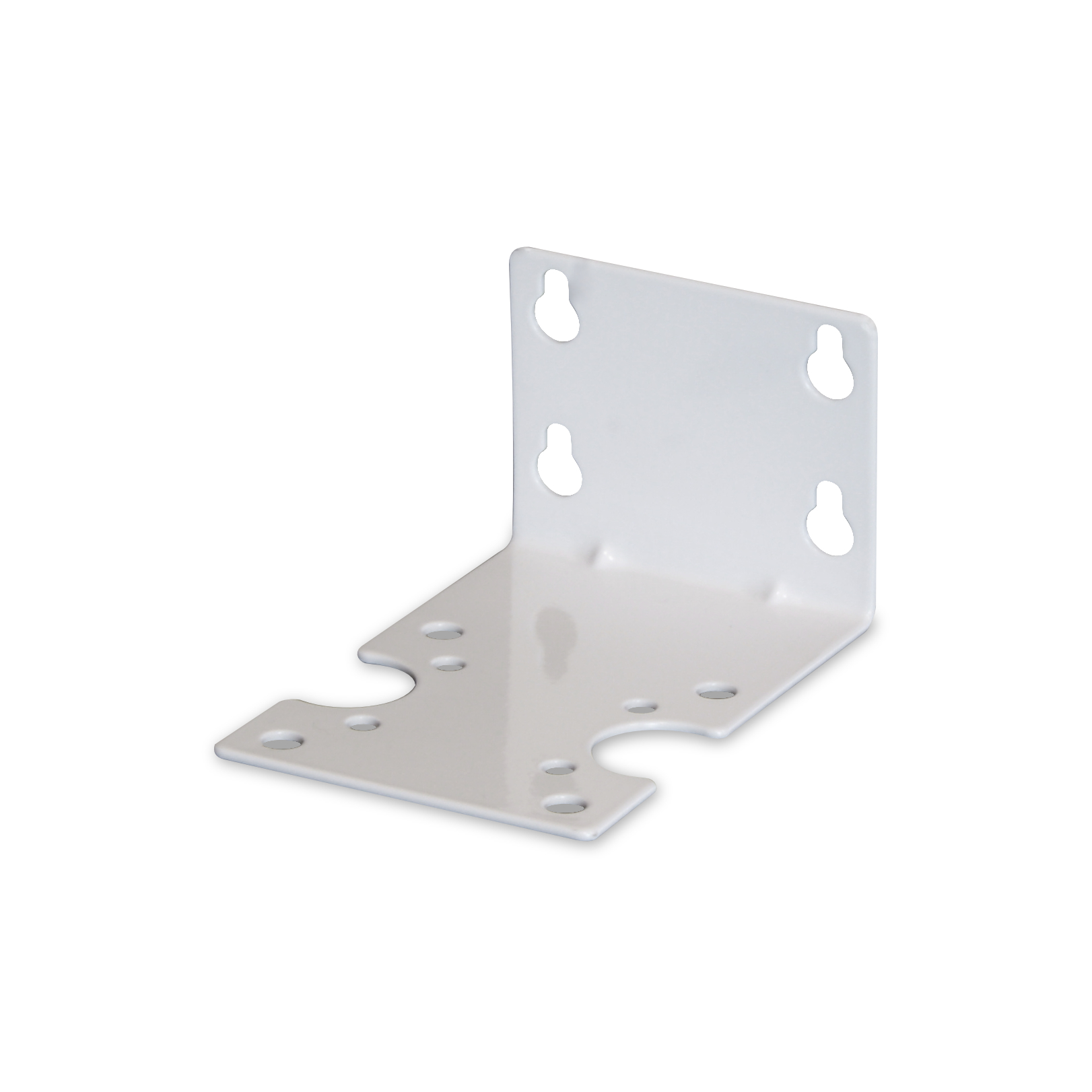 Single steel bracket for filter housing